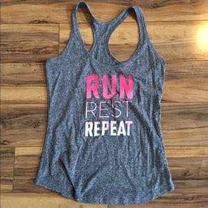 Run Rest Repeat Tank Top